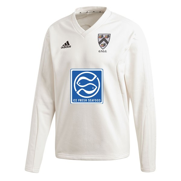 Grimsby Town CC Adidas Elite Long Sleeve Sweater