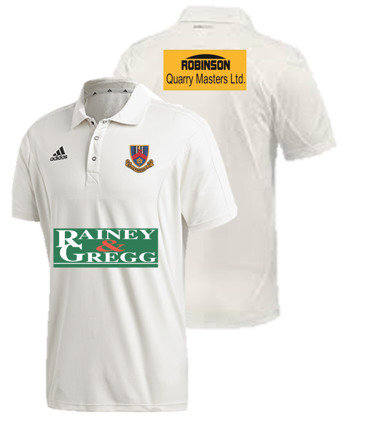 Ballymena CC Adidas Elite Junior Short Sleeve Shirt