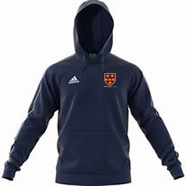 Wallington CC Adidas Navy Junior Fleece Hoody