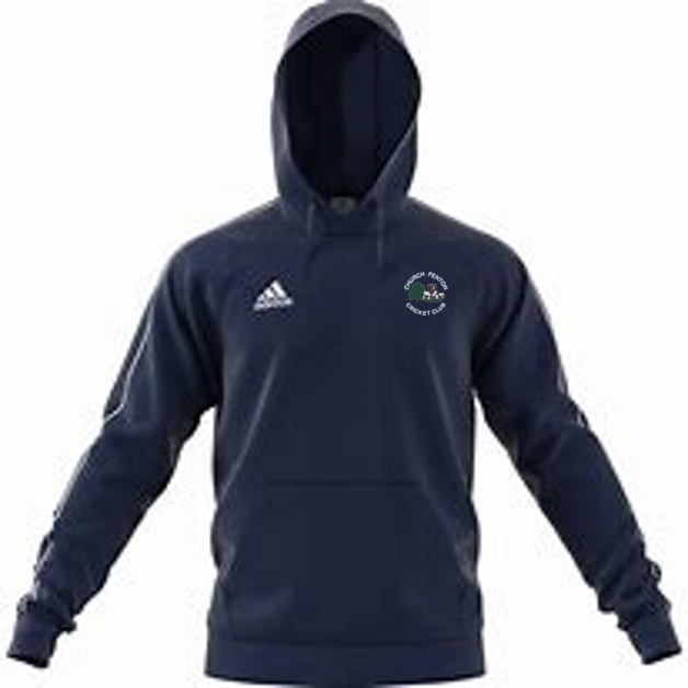 Church Fenton CC Adidas Navy Junior Fleece Hoody