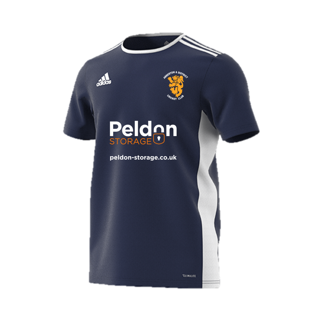 Abberton and District CC Navy Junior Training Jersey