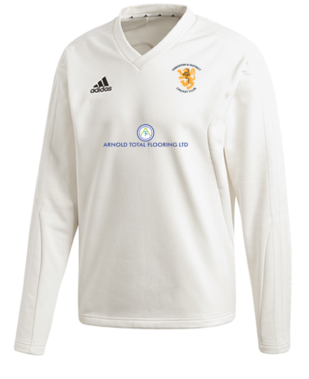 Abberton and District CC Adidas Elite Long Sleeve Sweater