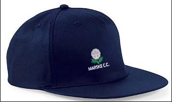Marske CC Navy Snapback Hat