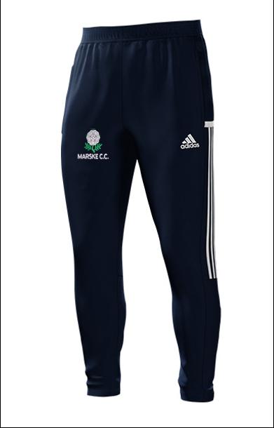 Marske CC Adidas Navy Training Pants