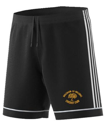 Walsham Le Willows CC Adidas Black Training Shorts