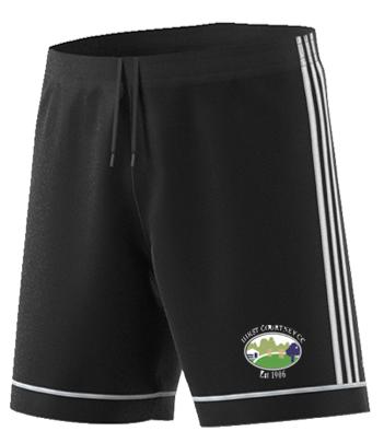 Hirst Courtney CC Adidas Black Training Shorts