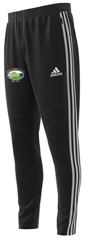 Hirst Courtney CC Adidas Black Junior Training Pants