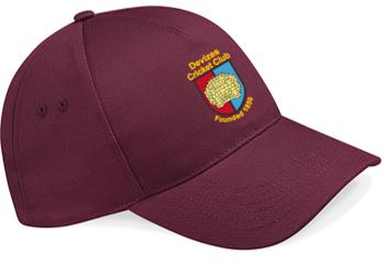 Devizes CC Maroon Baseball Cap