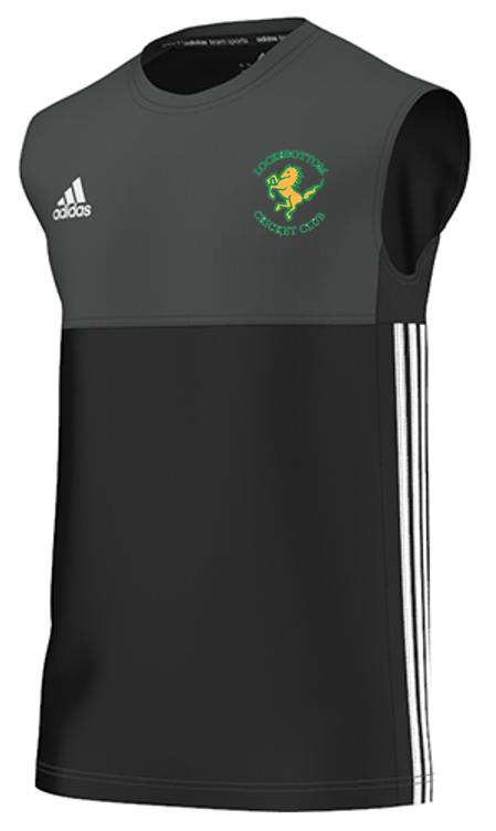 Locksbottom CC Adidas Black Training Vest