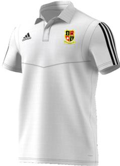 Altofts CC Adidas White Polo