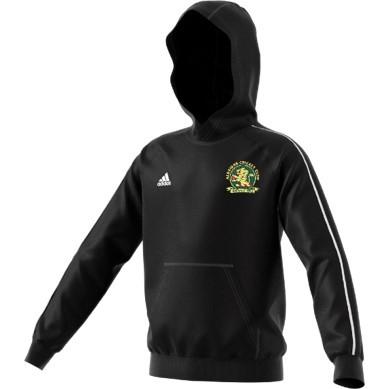 Aldridge CC Adidas Black Junior Fleece Hoody