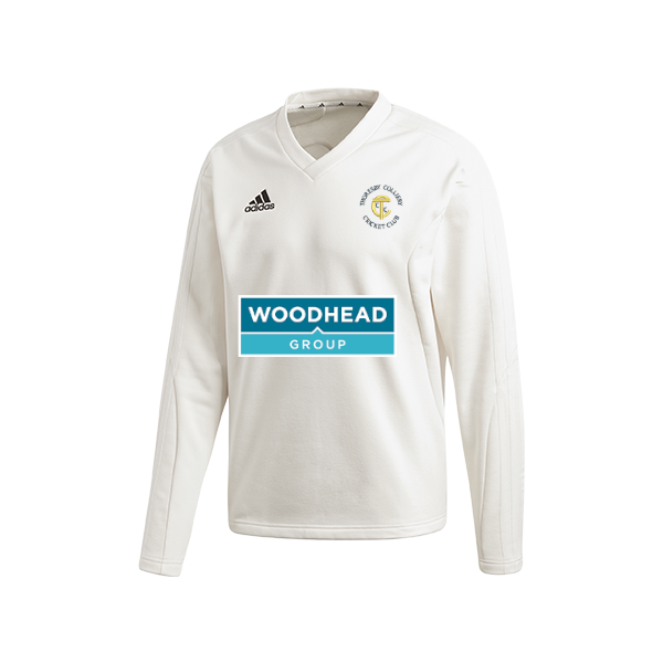 Thoresby Colliery CC Adidas L/S Playing Sweater