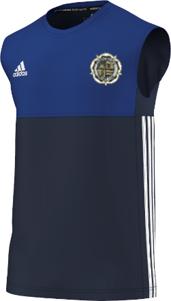 Askern Welfare CC Adidas Navy Training Vest