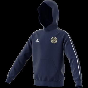 Askern Welfare CC Adidas Navy Junior Fleece Hoody
