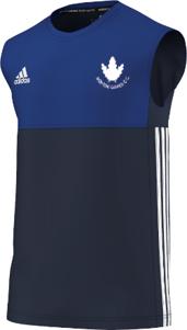 Norton Oakes CC Adidas Navy Training Vest
