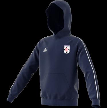 Sprotbrough CC Adidas Navy Junior Fleece Hoody