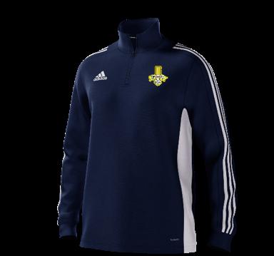 Waleswood Sports CC Adidas Navy Training Top