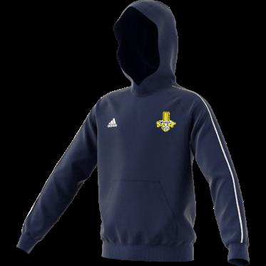 Waleswood Sports CC Adidas Navy Junior Fleece Hoody