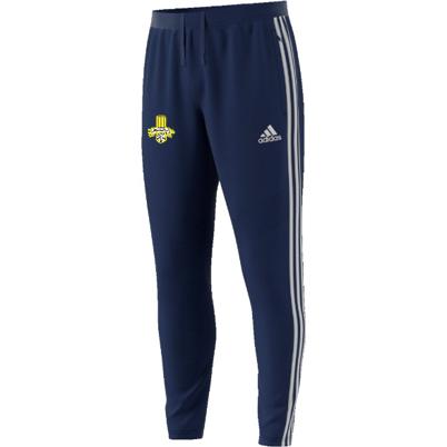 Waleswood Sports CC Adidas Junior Navy Training Pants