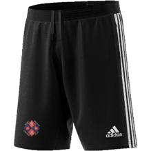 Kirby Muxloe CC Adidas Black Training Shorts