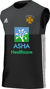 Alfreton CC Adidas Black Training Vest