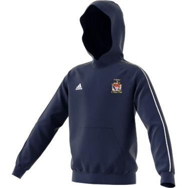 Peterlee CC Adidas Navy Junior Fleece Hoody