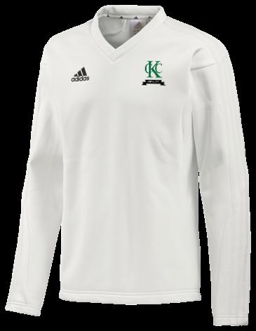 Kew CC Adidas L/S Playing Sweater