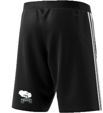 Mersham le Hatch CC Adidas Black Training Shorts