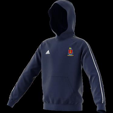 South Weald CC Adidas Navy Junior Fleece Hoody