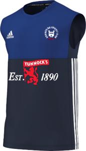 Uddingston CC Adidas Navy Training Vest