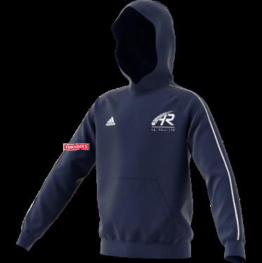 Uddingston CC Adidas Navy Fleece Hoody