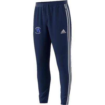 Albrighton CC Adidas Junior Navy Training Pants