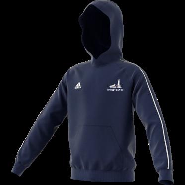 Whitley Bay CC Adidas Navy Fleece Hoody