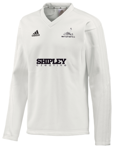 Whitley Bay CC Adidas L/S Playing Sweater