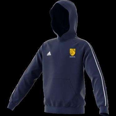 Eynsham CC Adidas Navy Junior Fleece Hoody