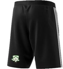 Lindsell CC Adidas Black Training Shorts