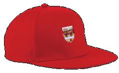 Lancaster University CC Red Snapback Cap