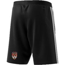 Lancaster University CC Adidas Black Training Shorts