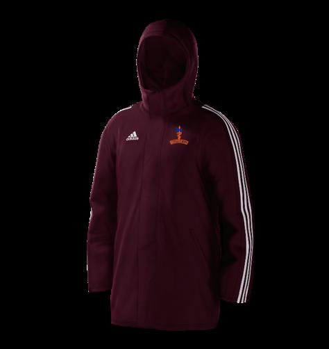 Milstead CC Maroon Adidas Stadium Jacket