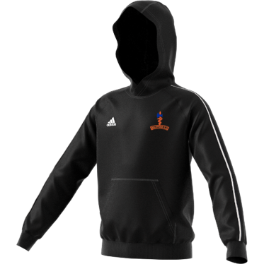 Milstead CC Adidas Black Junior Fleece Hoody