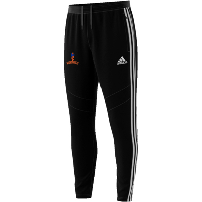 Milstead CC Adidas Black Junior Training Pants
