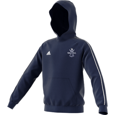 Rosedale Abbey CC Adidas Navy Junior Fleece Hoody