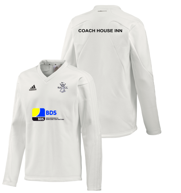 Rosedale Abbey CC Adidas L/S Playing Sweater
