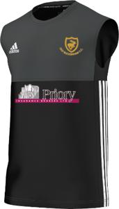 Old Buckenham CC Adidas Black Training Vest