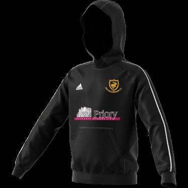 Old Buckenham CC Adidas Black Junior Fleece Hoody