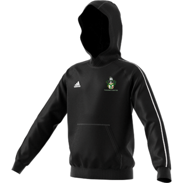 Twickenham CC Adidas Black Junior Fleece Hoody
