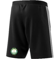 Little Bardfield Village CC Adidas Black Training Shorts