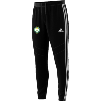 Little Bardfield Village CC Adidas Black Training Pants