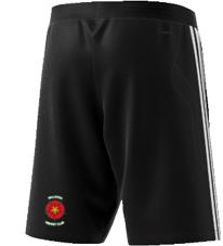 Walkden CC Adidas Black Training Shorts