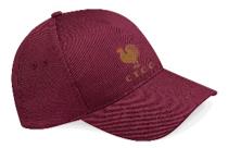 C.T.C.C. Maroon Baseball Cap